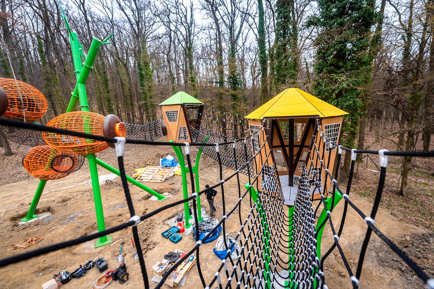 Hamarosan elkészül Zalaegerszegen az Alsóerdei Sport-és Élménypark