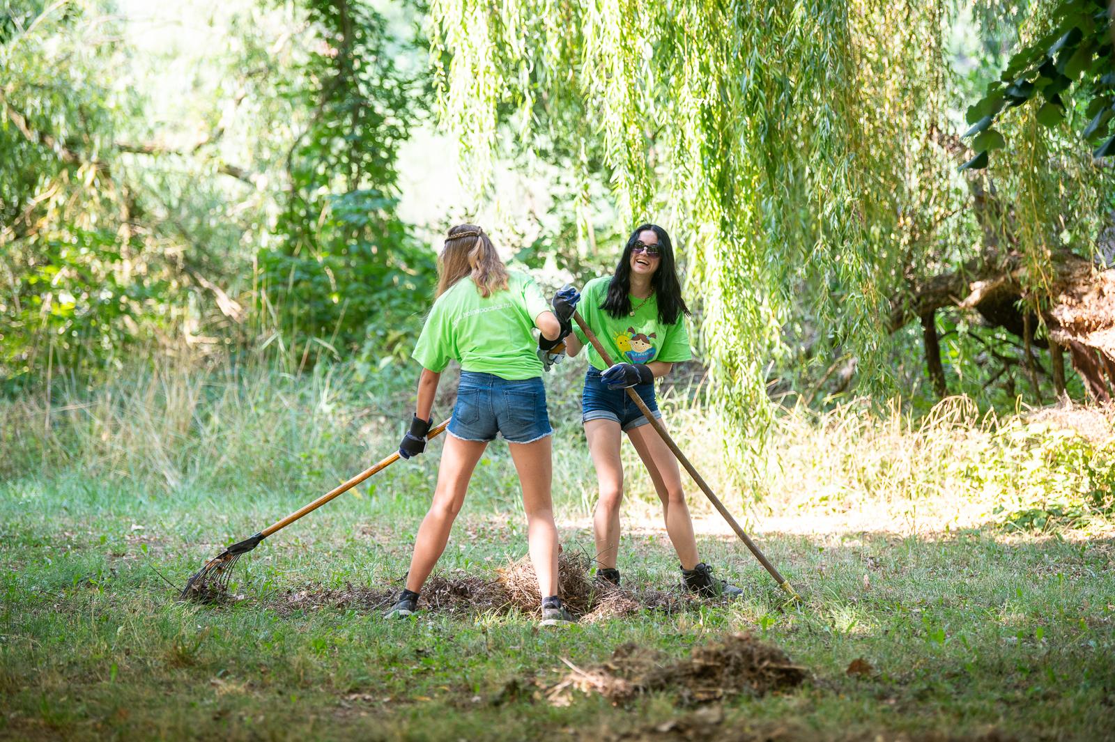 Szépülnek a Kis-Balaton látogatóhelyei az építő táborosok munkájával