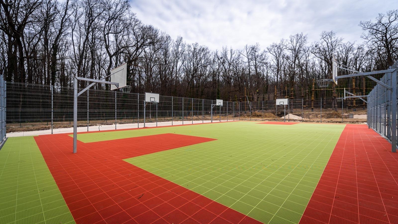 Leromlott napközis táborból születik sportpark Zalaegerszeg déli kapujában