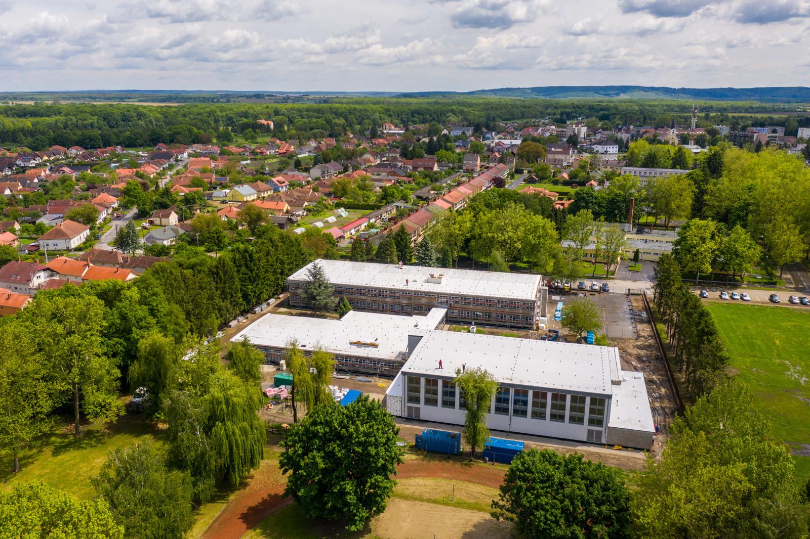 Így újul meg a határmenti város iskolája